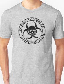 Zombie Outbreak Response Team w/ skull - light T-Shirt