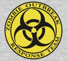 Zombie Outbreak Response Team - yellow Kids Clothes