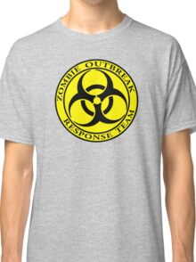 Zombie Outbreak Response Team - yellow Classic T-Shirt