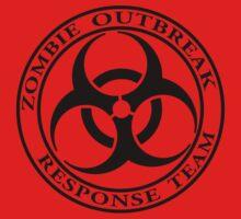 Zombie Outbreak Response Team - light Kids Tee