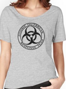 Zombie Outbreak Response Team - light Women's Relaxed Fit T-Shirt