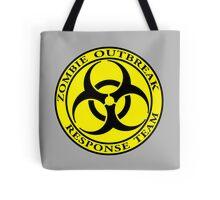Zombie Outbreak Response Team - yellow Tote Bag