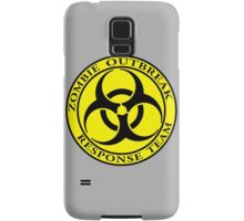 Zombie Outbreak Response Team - yellow Samsung Galaxy Case/Skin