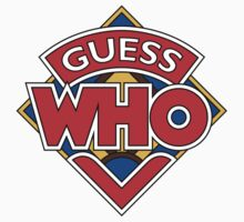 """Guess Who"" Design by Mouthpiece Designs"