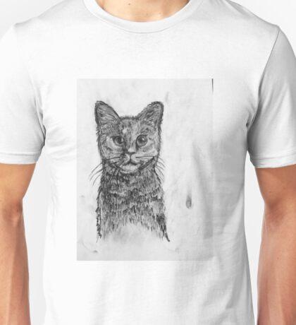 Charcoal Puss Unisex T-Shirt