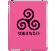 SourWolf (Pink) iPad Case/Skin
