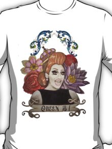 Clear Background Bianca Del Rio Design T-Shirt