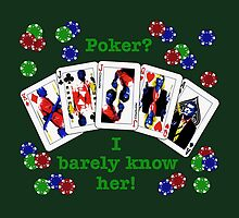 Psych: Poker? I barely know her! by spock-sickle