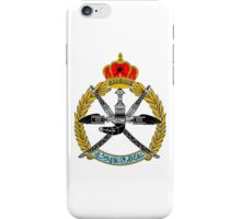 Emblem of the Royal Air Force of Oman iPhone Case/Skin