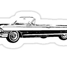 1962 Cadillac Convertible Sticker