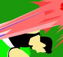 Super Smash Bros Little Mac Punch Sticker