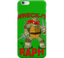 Wreck-It Raph iPhone Case/Skin