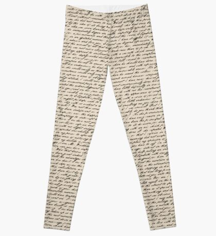 Literature in Print: Pride and Prejudice Leggings