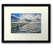 And The Sky Went Boom ! Framed Print