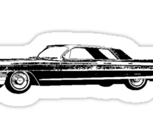 1962 Cadillac Coupe Sticker