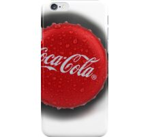Coca Cola Bottle Cap  iPhone Case/Skin