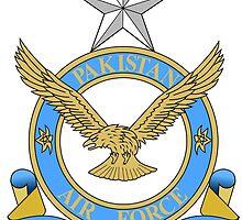 Emblem of Pakistan Air Force  by abbeyz71