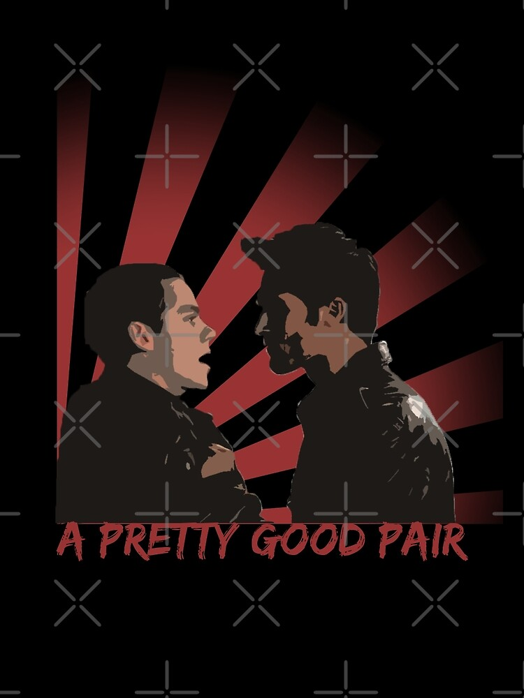 A pretty good pair by iheartgallifrey
