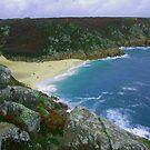 Porthcurno Bay, Cornwall by Mark Wilson