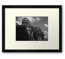 Roche Rock Chapel Framed Print
