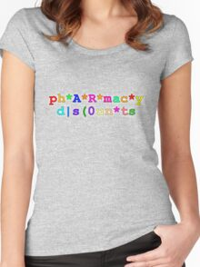 ph*A*R*mac*y d|s(0un*ts Women's Fitted Scoop T-Shirt