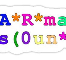 ph*A*R*mac*y d s(0un*ts Sticker