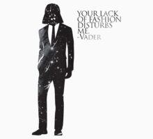 Darth Vader Fashion Sense by geekcases