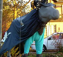Halloween Moose!!! Only in Canada Eh!!! by Larry Llewellyn