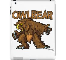 Owlbear iPad Case/Skin