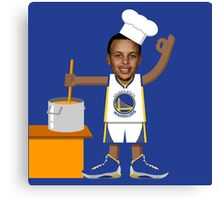 Chef Curry with the Pot, Boy! Canvas Print