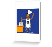 Chef Curry with the Pot, Boy! Greeting Card