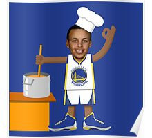 Chef Curry with the Pot, Boy! Poster