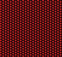 Nerdy Retro Pixel Heart by thetastefulnerd
