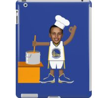 Chef Curry with the Pot, Boy! iPad Case/Skin