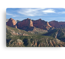 Kolob Fingers (Front View) Canvas Print