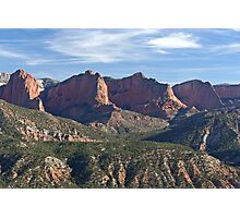 Kolob Fingers (Front View) Photographic Print