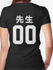 先生 Sensei 00 Womens Fitted T-Shirt
