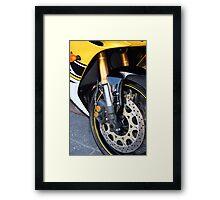 Wheels 1 Framed Print