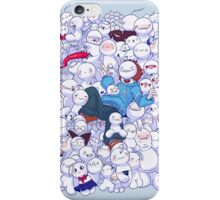 Cryaotic - Too Many iPhone Case/Skin