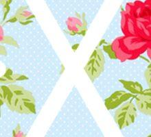 EXO - Blue Floral Sticker