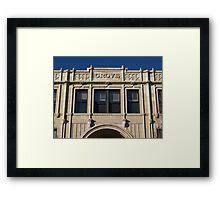 Grove Arcade, Asheville NC Framed Print