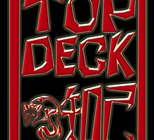 TopDeck Personalised Chinese-Style Chops 3D Black by Keith Richardson