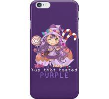 Yup that tasted purple - Lulu iPhone Case/Skin