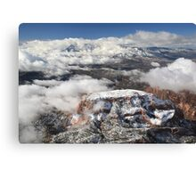 Snow on Kolob Canvas Print