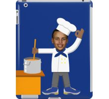 Chef Curry with the Pot, Boy! V.2 iPad Case/Skin
