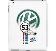 Herbie 53 VW bug beetle iPad Case/Skin