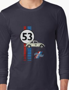 Herbie 53 VW bug beetle Long Sleeve T-Shirt