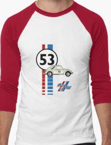 53 VW bug beetle bug Men's Baseball ¾ T-Shirt