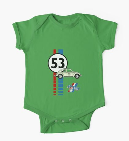 53 VW bug beetle bug One Piece - Short Sleeve