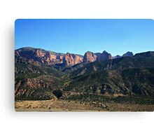 The Fingers of Kolob  Canvas Print